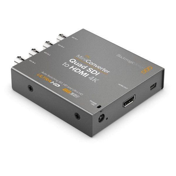 Blackmagic Mini Converter Quad SDI to HDMI 4K 2