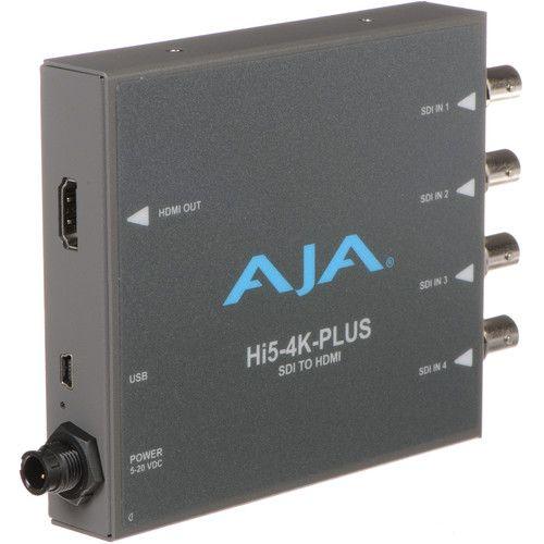 Ex-Demo AJA Quad 3G-SDI to HDMI 2.0 Mini-Converter