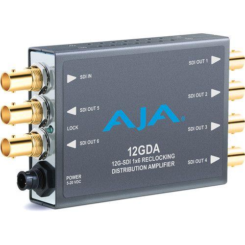Ex-Demo AJA 12G-SDI Distribution Amplifier Mini-Converter