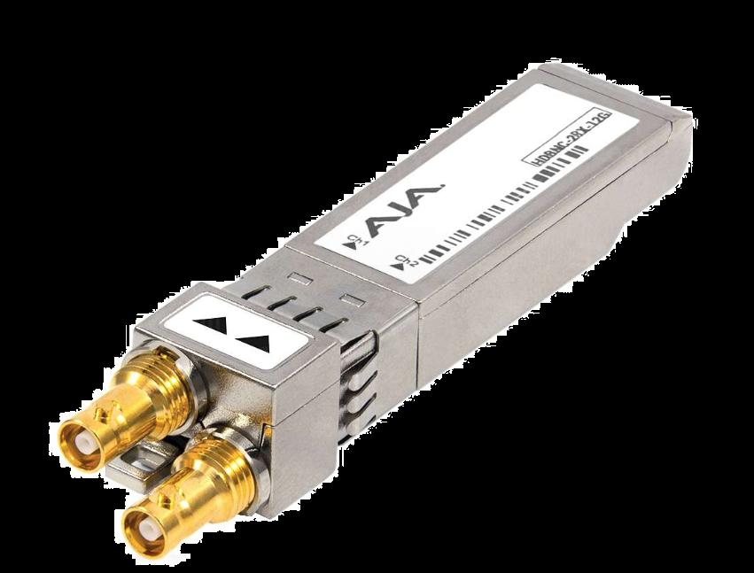 AJA HDBNC-2RX-12G