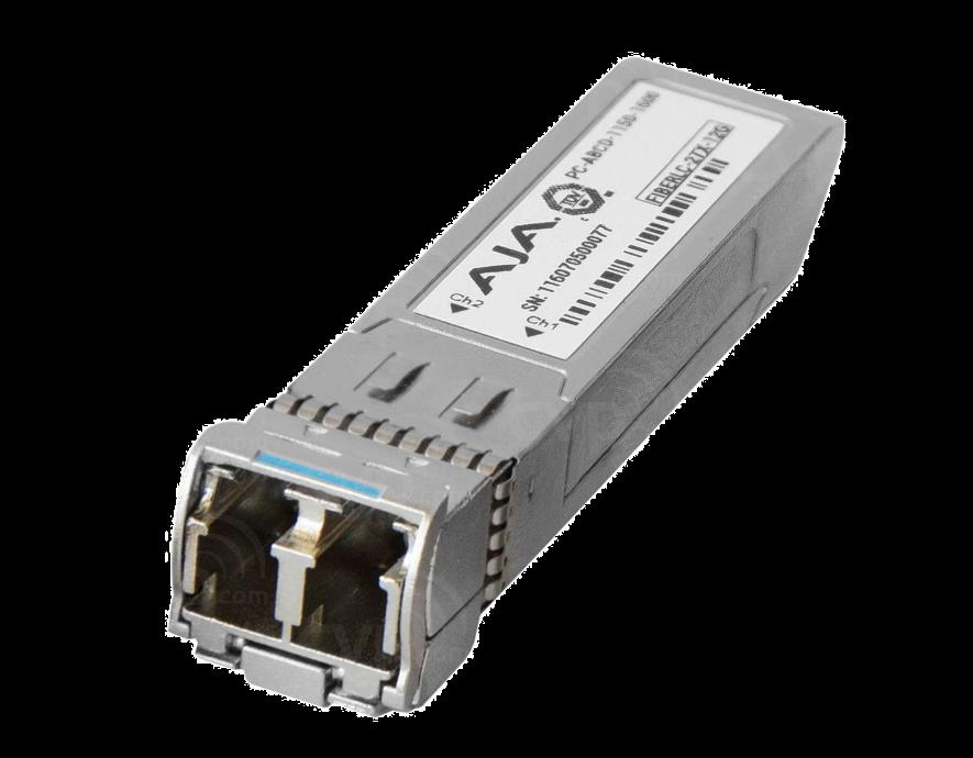 AJA 2-Channel 12G Single-Mode LC Fibre Transmitter SFP