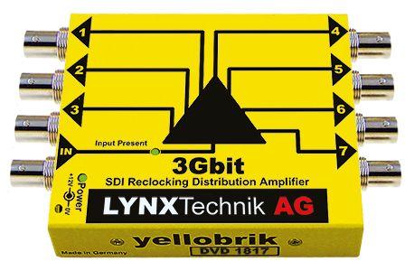 yellobrik 3G-SDI Distribution Amplifier (Single 1:7)
