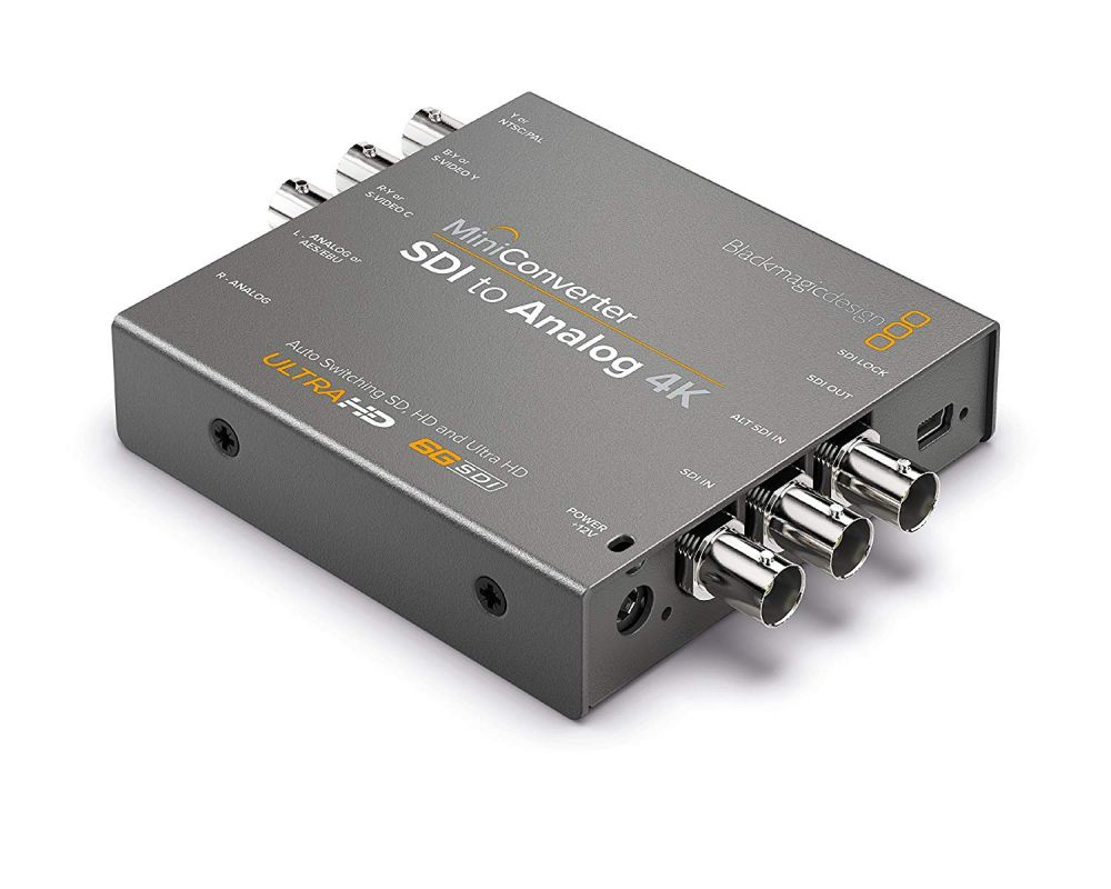 Blackmagic Mini Converter - SDI to Analogue