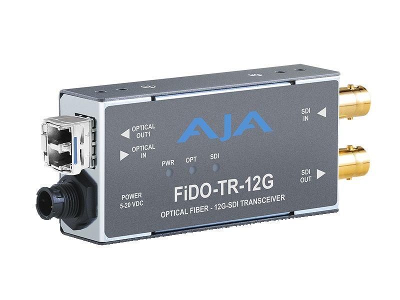 AJA 12G-SDI/LC SM Fibre Transceiver