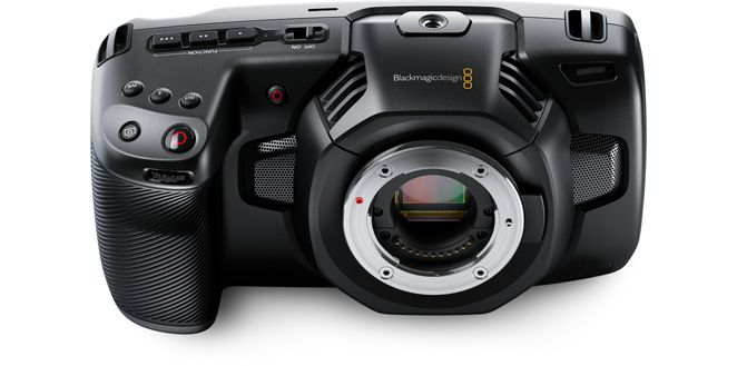 Blackmagic Pocket Cinema Camera 4K with Spare Battery & Charger Kit