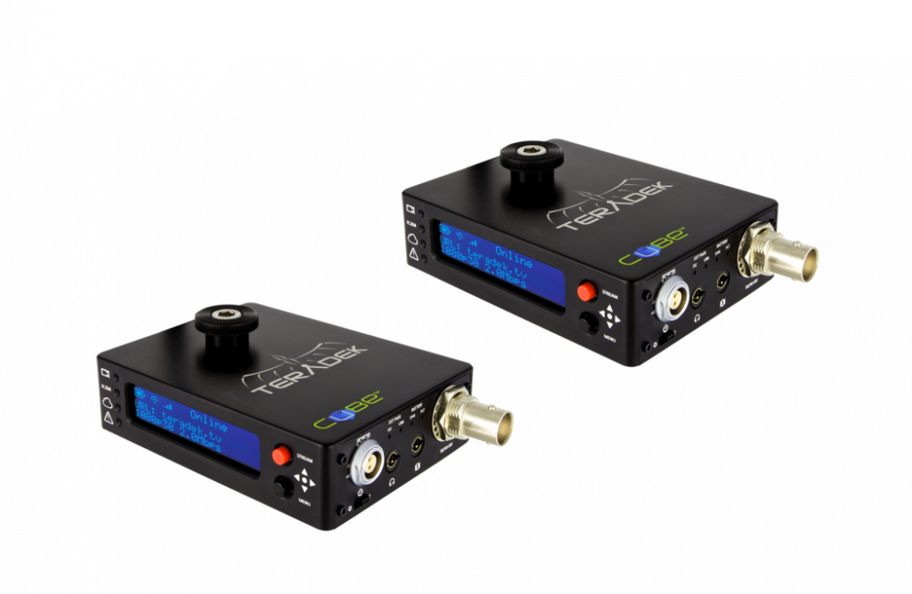 Teradek CUBE-105/305 HD-SDI Enc/Dec Pair