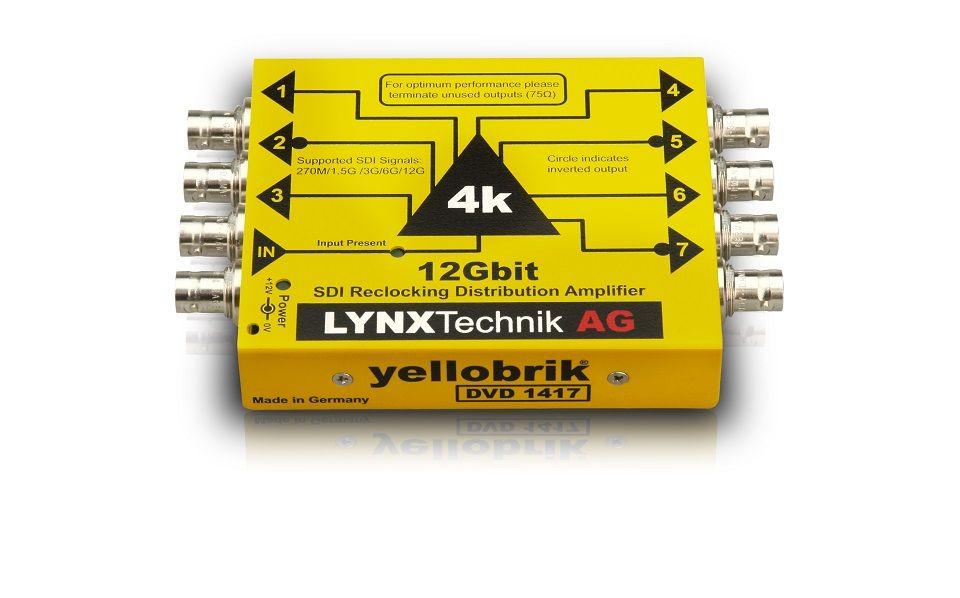 yellobrik 12G-SDI Distribution Amplifier (Single 1:7)