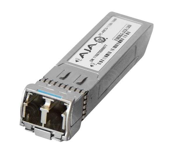 AJA 12G Single-Mode LC Fibre Transmitter SFP