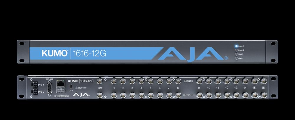 AJA KUMO 16x16 12G-SDI Router