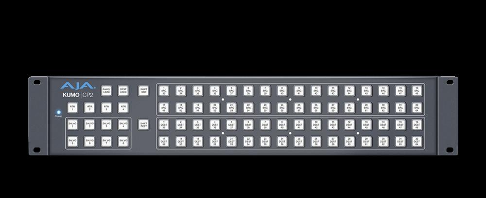 AJA KUMO Router Control Panel (2RU)