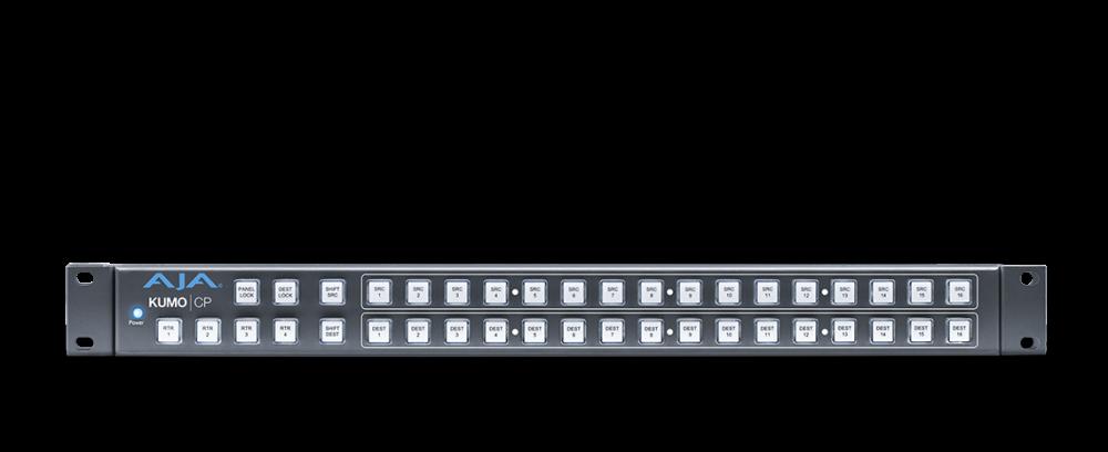 AJA KUMO Router Control Panel