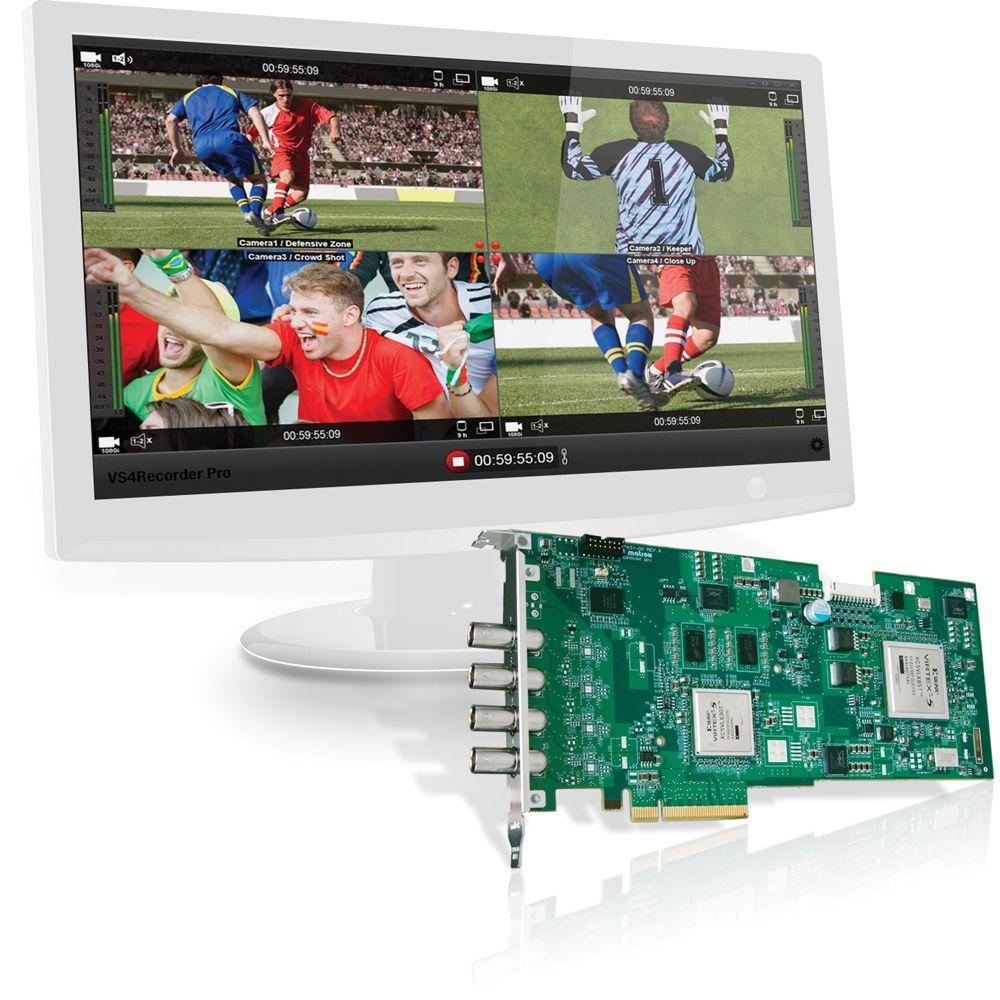 Matrox VS4 Recorder Pro Software Upgrade