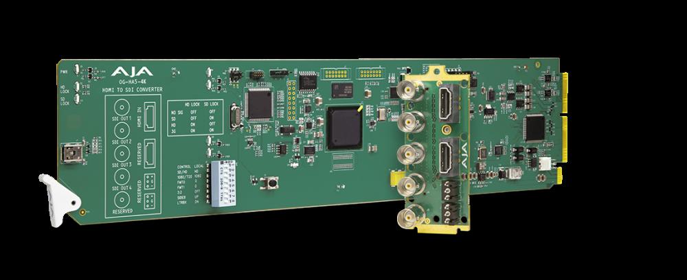 openGear UHD HDMI 2.0 to 3G-SDI Converter