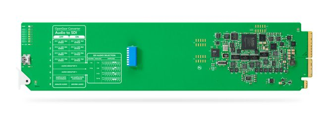 Blackmagic OpenGear Converter - Audio to SDI