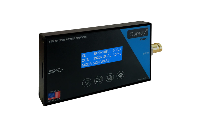 Osprey VB-US - USB3.0, SDI to USB Video Capture with Loopout