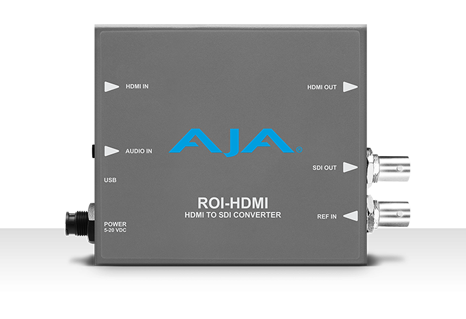 AJA JPEG 2000 IP to 3G-SDI AV Mini-Converter
