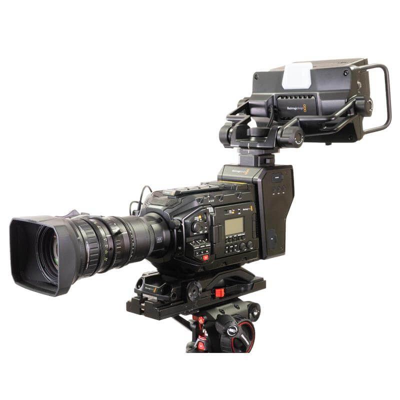 Blackmagic URSA Broadcast & Fuji LA16 Lens Bundle