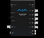 AJA UHD/HD HDBaseT to 6G-SDI/HDMI (PoH & Genlock)