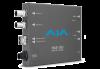 AJA HDMI 2.0 to 12G-SDI Mini-Converter w/ Single Fibre Tx